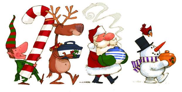 TnT - Christmas Potluck Event